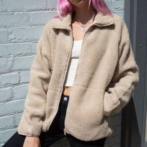 Brandy Melville teddy coat